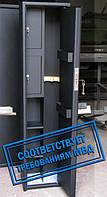 Сейф Оружейный Усиленный СО 1400У/2ТТПк для хранения Двух Ружей высотой до 1380 мм с двумя трейзерами