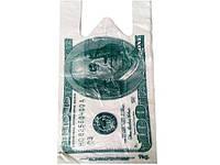 Пакеты майка 27см 50см Доллар (100 шт)