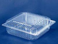 Блистерная упаковка для десерта ПС-55 V=3300мл 240*250*85мм (110 шт)