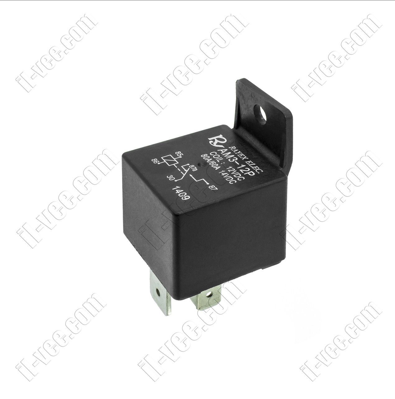 Реле  AM3-12P 12VDC 40A RAYEX ELECTRONIC