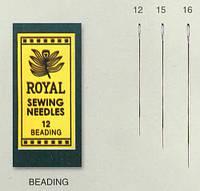 Beading 12 (25шт) Набор игл для бисера Royal (Япония) • RB12