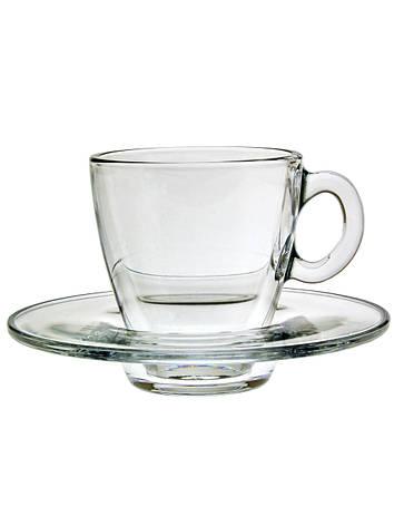 Чашки с блюдцами эспрессо Aqua 12шт 95040, фото 2