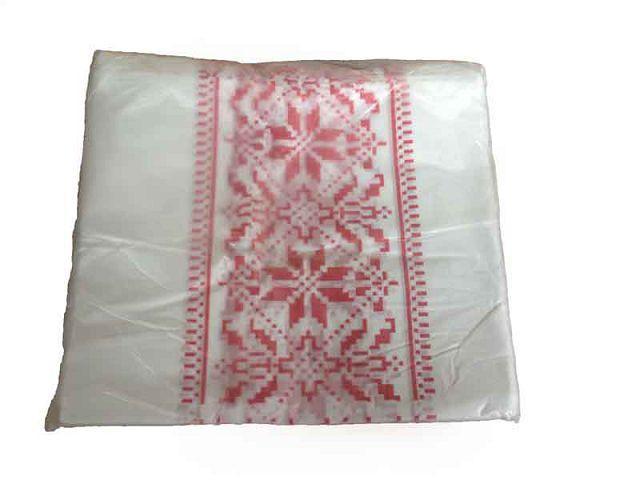 Пакет майка полиэтиленовая 45см 25см Вышиванка (100 шт)