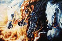 """Набор для вышивания крестом """"4 Horses of Apocalypse"""" Kustom Krafts • SLO-003"""