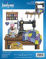 "Набор для вышивания крестом ""Antique Sewing Room//Античная швейная комната"" Janlynn • 017-0100"