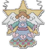 """Набор для вышивания крестом """"Angel//Ангел"""" Janlynn • 021-1100"""