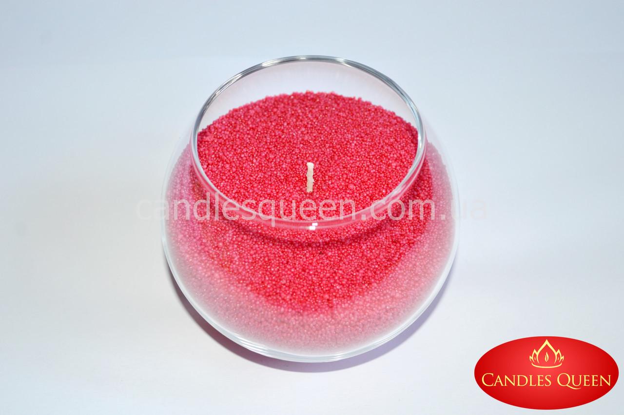 Стеарин цвет French rose 500 г. Для создания насыпных свечей и литых
