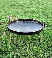 Сковорода бороны,из диска, для пикника туристическая, для мангала