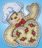 """Набор для вышивания крестом """"Gingerbread//Имбирный пряник"""" Design Works • dw557"""