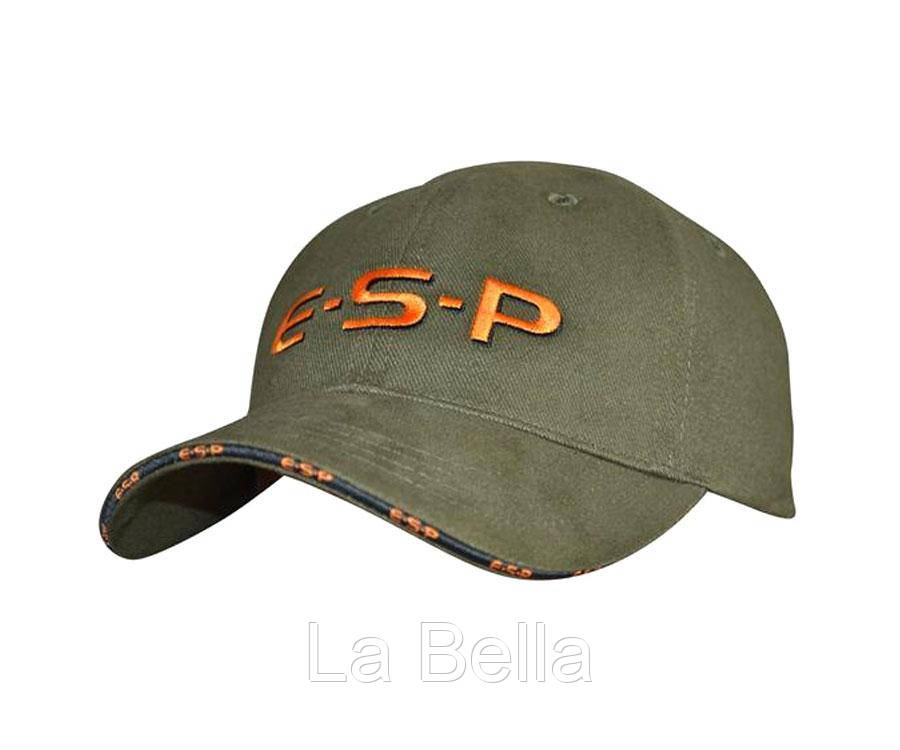 Кепка летняя  ESP Cap Green OrangeLogo