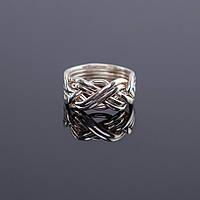 Женский серебряный перстень головоломка от Wickerring