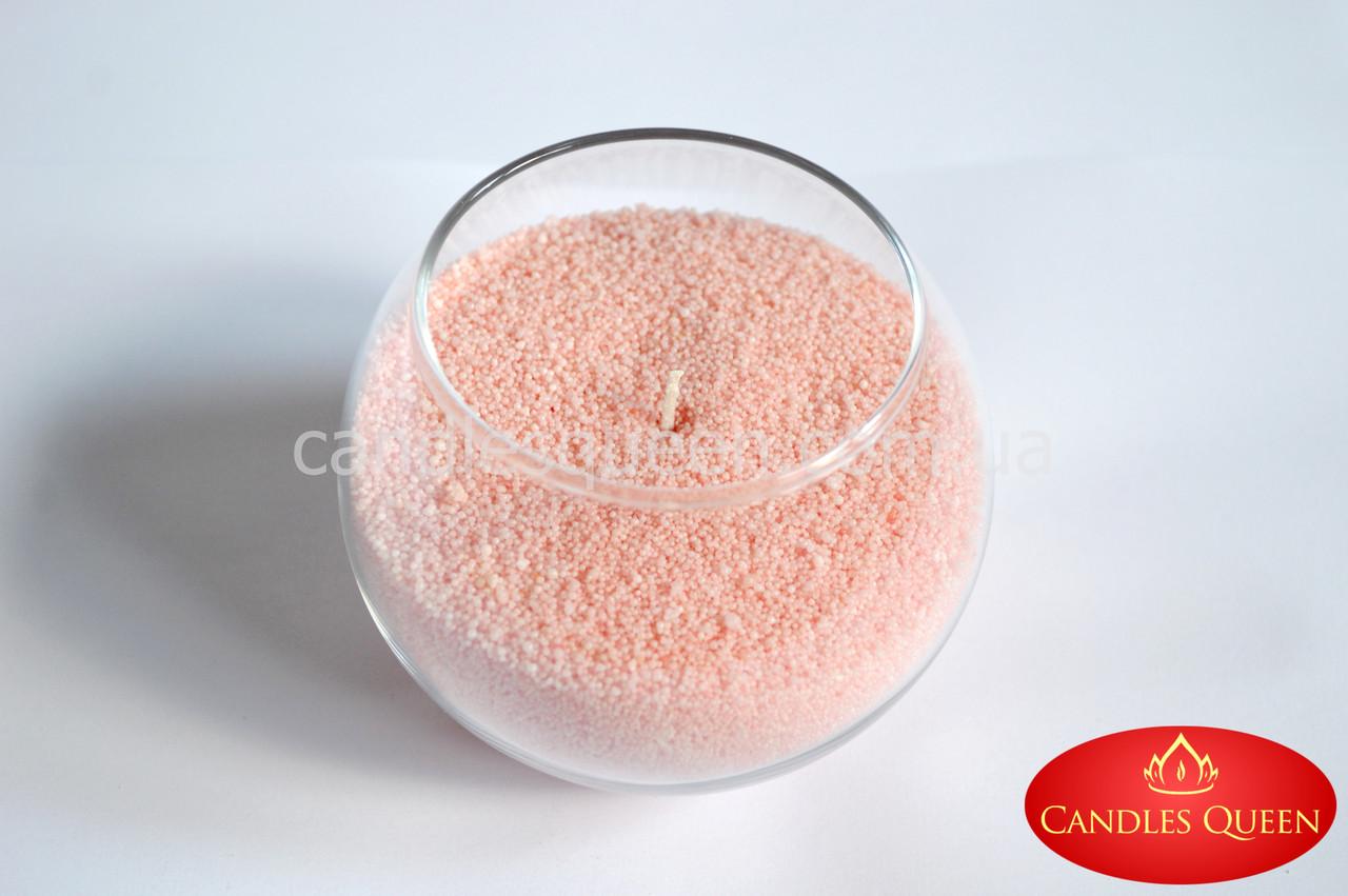 Стеарин цвет персиковый светлый 500 г. Для создания насыпных свечей и литых