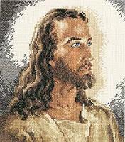 """Набор для вышивания крестом """"Portrait of Christ//Портрет Христа"""" Janlynn • 1149-00"""