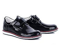 Туфли №033 black лак (26-30 р.)