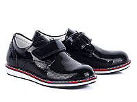 Туфли №033 black лак (30-35 р.)