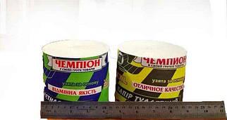 Туалетная бумага Чемпион Желтый 11,5/9,5см 24 рул