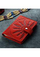 Обложка на паспорт Инди красная