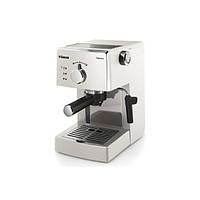 Рожковая кофеварка эспрессо Saeco Poemia Manual Espresso White (HD8423/28)