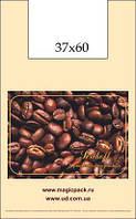 Пакет майка 37см 60см 35мк Кофе (100 шт)