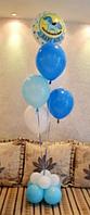 Воздушные шары на выписку мальчику