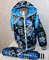 "Куртка трансформер ""Чики"" (куртка-жилетка), фото 1"