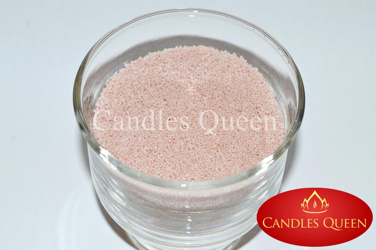 Стеарин цвет айвори-розовый 1кг. Для насыпных свечей и литых