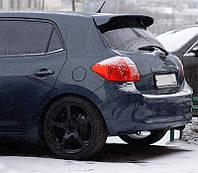Спойлер на крышку багажника Toyota Auris 2006-2013 г.в. Тойота Аурис