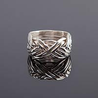 Стильный серебряный мужской перстень от Wickerring