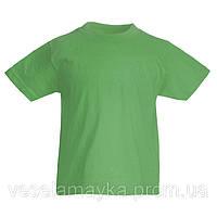 Зеленая детская футболка (Комфорт)