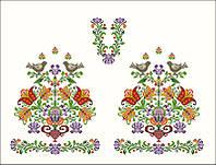 Заготовка для вишивки на НАТУРАЛЬНІЙ ТКАНИНІ домоткане полотно