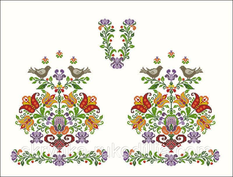 Заготовка жіноча сорочка для вишивки нитками або бісером  продажа ... 4ce92de820f7d