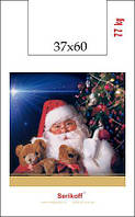 Пакет новогодний 37см 60см 35мк Дед Мороз(100 шт)