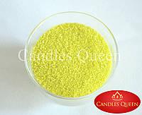 Стеарин лаймовый цвет 1 кг. Для насыпных свечей и литых, фото 1