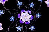 Красивая потолочная люстра с пультом и разноцветной подсветкой, фото 4