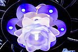 Красивая потолочная люстра с пультом и разноцветной подсветкой, фото 6