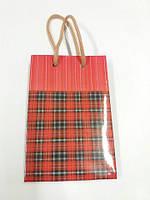 Бумажный подарочный пакет 8см 12см 3см (12 шт)