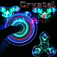 Спинер spinner crystal led