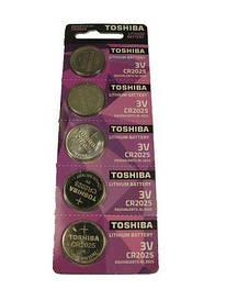 Батарейка Таблетки Toshiba 2025 (А5) (5 шт)