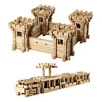 Деревянный конструктор IGROTECO Оборонительные стены