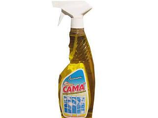 Сред. д/стекол САМА лимон 500г (курок) (1 шт)