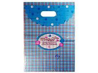 Пакет подарочный с прорезной ручкой 25см 35см № 3 (100шт)