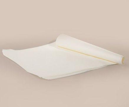Силиконизированная бумага для выпечки в листах 40см 60см  белая 500шт,