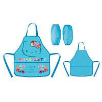 Фартук для творчества «Hello Kitty» с нарукавниками, ТМ Kite