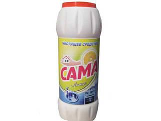 Средство для посуды порошок  САМА Лимон 500г