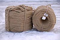 Джутовый канат тросовой свивки д.6 мм, фото 1