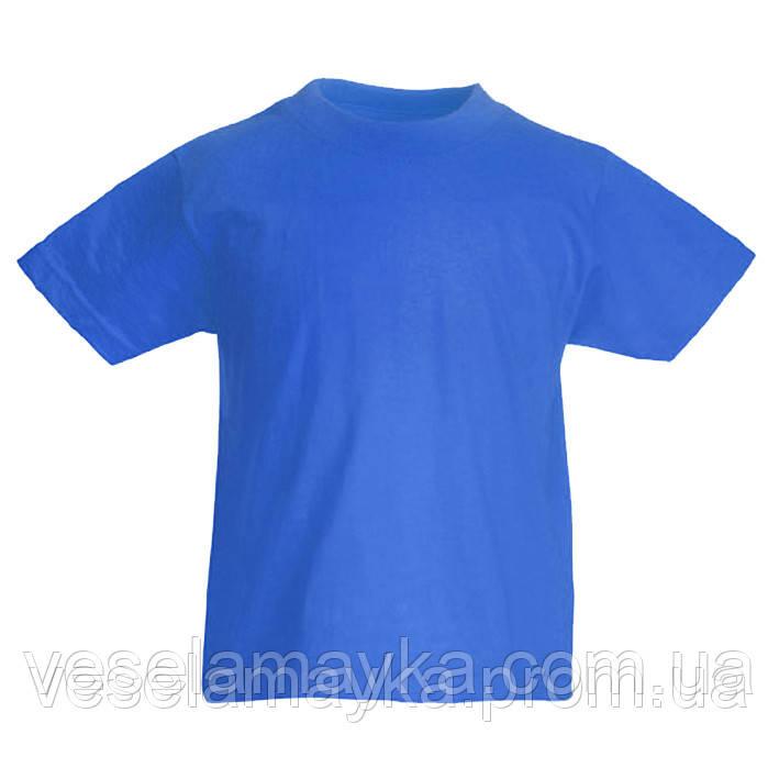 Синя дитяча футболка (Комфорт)