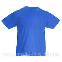 Синяя детская футболка (Комфорт)