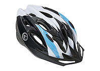 Шлем KLS Blaze белый / синий АКЦИЯ -35%