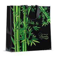 Красивая женская хозяйственная сумка 40см 40см Бамбук (10 шт)