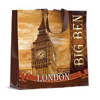 Красивая женская хозяйственная сумка 40см 40см Биг Бен (10 шт)